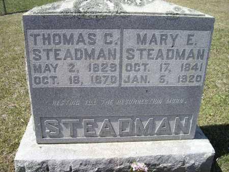 STEADMAN (VETERAN CSA), THOMAS C. - Lawrence County, Arkansas | THOMAS C. STEADMAN (VETERAN CSA) - Arkansas Gravestone Photos