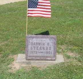 STEARNS (VETERAN), DARWIN E. - Lawrence County, Arkansas | DARWIN E. STEARNS (VETERAN) - Arkansas Gravestone Photos