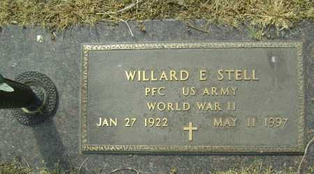 STELL  (VETERAN WWII), WILLARD E. - Lawrence County, Arkansas | WILLARD E. STELL  (VETERAN WWII) - Arkansas Gravestone Photos