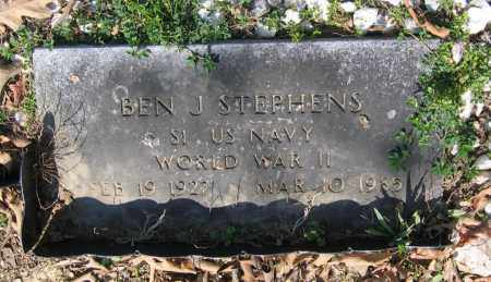 STEPHENS (VETERAN WWII), BEN JONES - Lawrence County, Arkansas | BEN JONES STEPHENS (VETERAN WWII) - Arkansas Gravestone Photos