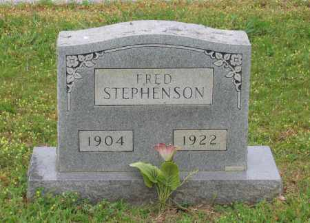 STEPHENSON, FRED - Lawrence County, Arkansas | FRED STEPHENSON - Arkansas Gravestone Photos