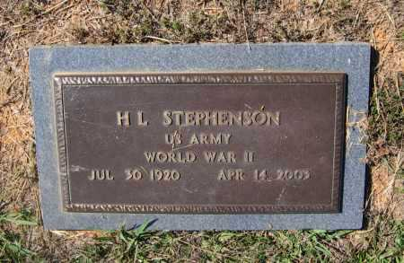 STEPHENSON, JR. (VETERAN WWII), H. L. - Lawrence County, Arkansas | H. L. STEPHENSON, JR. (VETERAN WWII) - Arkansas Gravestone Photos