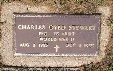 STEWART (VETERAN WWII), CHARLEY OYED - Lawrence County, Arkansas | CHARLEY OYED STEWART (VETERAN WWII) - Arkansas Gravestone Photos