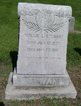 STEWART, MOLLIE L - Lawrence County, Arkansas | MOLLIE L STEWART - Arkansas Gravestone Photos