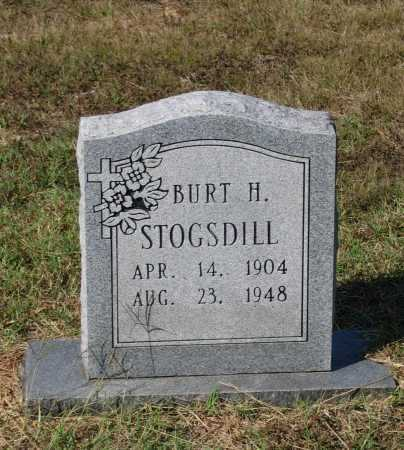 STOGSDILL, BURT HARRISON - Lawrence County, Arkansas | BURT HARRISON STOGSDILL - Arkansas Gravestone Photos