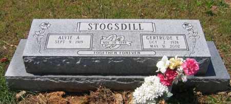 "STOGSDILL, GERTRUDE ELIZABETH ""TRUDY"" - Lawrence County, Arkansas | GERTRUDE ELIZABETH ""TRUDY"" STOGSDILL - Arkansas Gravestone Photos"