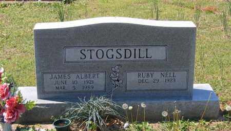STOGSDILL, JAMES ALBERT - Lawrence County, Arkansas | JAMES ALBERT STOGSDILL - Arkansas Gravestone Photos