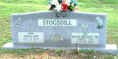 STOGSDILL. SR., WAYNE RUEDELL - Lawrence County, Arkansas | WAYNE RUEDELL STOGSDILL. SR. - Arkansas Gravestone Photos