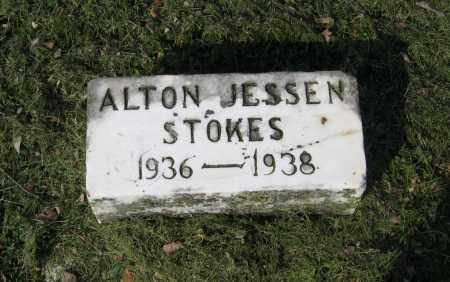 STOKES, ALTON JESSEN - Lawrence County, Arkansas | ALTON JESSEN STOKES - Arkansas Gravestone Photos
