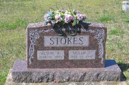 STOKES, ELSON AUDIE - Lawrence County, Arkansas | ELSON AUDIE STOKES - Arkansas Gravestone Photos