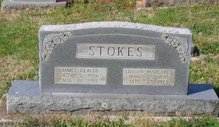 STOKES, JAMES CLAUDE - Lawrence County, Arkansas | JAMES CLAUDE STOKES - Arkansas Gravestone Photos