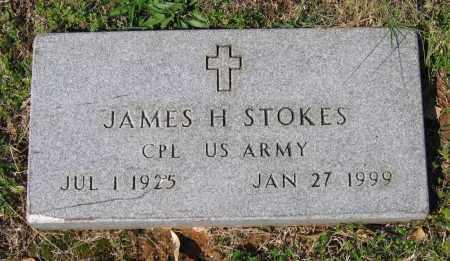 STOKES (VETERAN), JAMES HOWARD - Lawrence County, Arkansas | JAMES HOWARD STOKES (VETERAN) - Arkansas Gravestone Photos