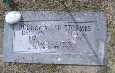STORMES, RODNEY ALLEN - Lawrence County, Arkansas | RODNEY ALLEN STORMES - Arkansas Gravestone Photos