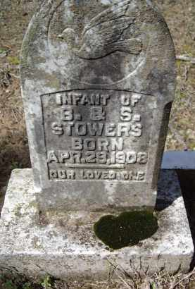STOWERS, INFANT - Lawrence County, Arkansas | INFANT STOWERS - Arkansas Gravestone Photos