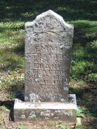 STRATTON, EMMA STUART - Lawrence County, Arkansas | EMMA STUART STRATTON - Arkansas Gravestone Photos