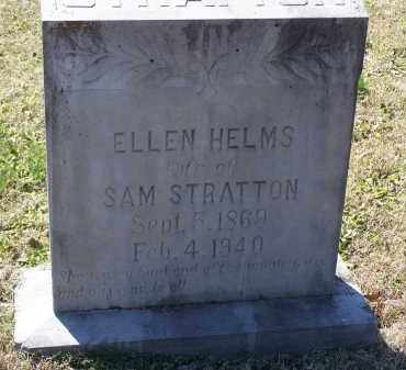 STRATTON, SENIA ELLEN - Lawrence County, Arkansas | SENIA ELLEN STRATTON - Arkansas Gravestone Photos