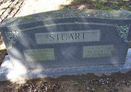 STUART, CICERO T. - Lawrence County, Arkansas | CICERO T. STUART - Arkansas Gravestone Photos