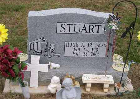 "STUART, JR, HUGH ARLINGTON ""JACKIE"" - Lawrence County, Arkansas 