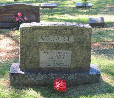 STUART, JOHN BRADY - Lawrence County, Arkansas | JOHN BRADY STUART - Arkansas Gravestone Photos