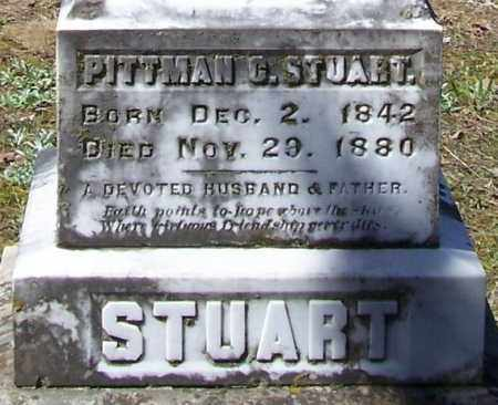 STUART (2), PITTMAN CICERO - Lawrence County, Arkansas | PITTMAN CICERO STUART (2) - Arkansas Gravestone Photos