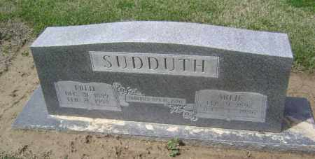 GOFF SUDDUTH, ARLIE JANE - Lawrence County, Arkansas | ARLIE JANE GOFF SUDDUTH - Arkansas Gravestone Photos