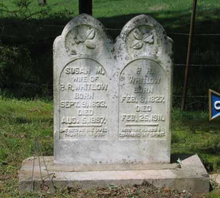 BENTON WHITLOW, SUSAN MIRANDA - Lawrence County, Arkansas | SUSAN MIRANDA BENTON WHITLOW - Arkansas Gravestone Photos