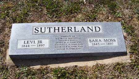 SUTHERLAND, JR., LEVI - Lawrence County, Arkansas | LEVI SUTHERLAND, JR. - Arkansas Gravestone Photos