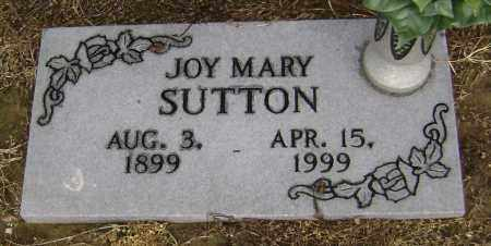 SUTTON, JOY MARY - Lawrence County, Arkansas | JOY MARY SUTTON - Arkansas Gravestone Photos