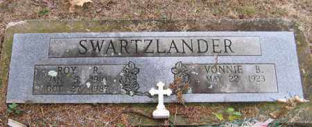 SWARTZLANDER, ROY R. - Lawrence County, Arkansas | ROY R. SWARTZLANDER - Arkansas Gravestone Photos