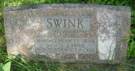SWINK, MARGARET FRANCES - Lawrence County, Arkansas | MARGARET FRANCES SWINK - Arkansas Gravestone Photos