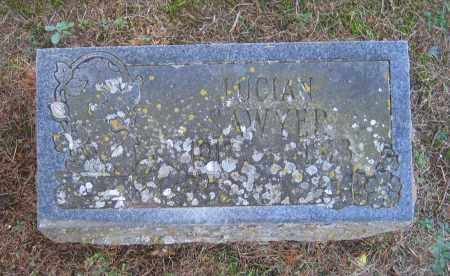 SAWYER, LUCIAN D. - Lawrence County, Arkansas | LUCIAN D. SAWYER - Arkansas Gravestone Photos