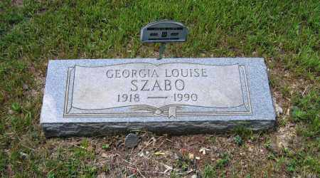 WILLIFORD SZABO, GEORGIA LOUISE - Lawrence County, Arkansas | GEORGIA LOUISE WILLIFORD SZABO - Arkansas Gravestone Photos