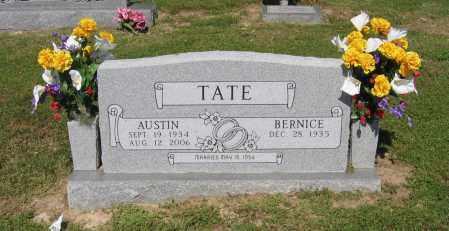 TATE, CECIL AUSTIN - Lawrence County, Arkansas | CECIL AUSTIN TATE - Arkansas Gravestone Photos
