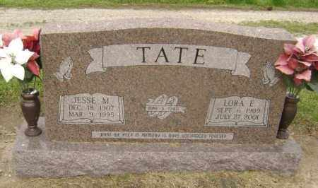 TATE, JESSE M. - Lawrence County, Arkansas | JESSE M. TATE - Arkansas Gravestone Photos