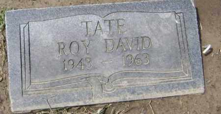 TATE, ROY DAVID - Lawrence County, Arkansas | ROY DAVID TATE - Arkansas Gravestone Photos
