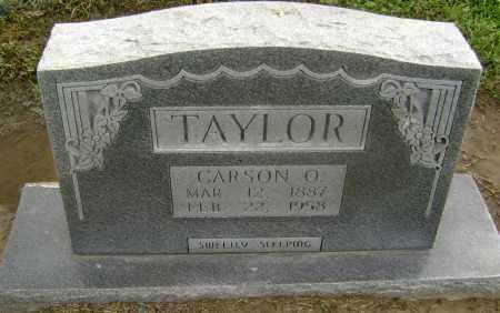 TAYLOR, CARSON O. - Lawrence County, Arkansas | CARSON O. TAYLOR - Arkansas Gravestone Photos