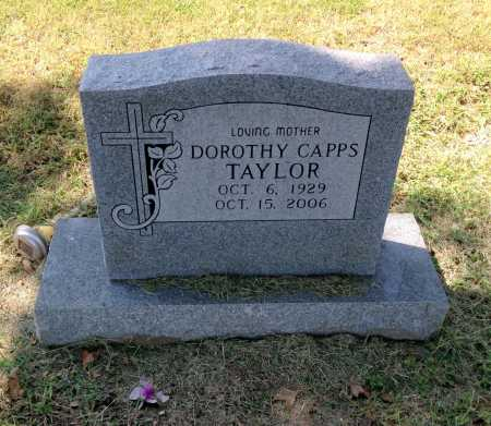CAPPS TAYLOR, DOROTHY INEZ - Lawrence County, Arkansas | DOROTHY INEZ CAPPS TAYLOR - Arkansas Gravestone Photos