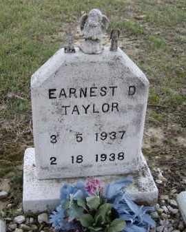 TAYLOR, EARNEST D. - Lawrence County, Arkansas | EARNEST D. TAYLOR - Arkansas Gravestone Photos