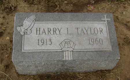 TAYLOR, HARRY L. - Lawrence County, Arkansas | HARRY L. TAYLOR - Arkansas Gravestone Photos