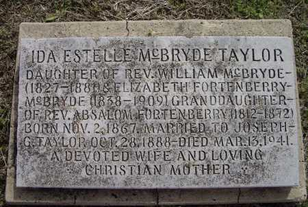 TAYLOR, IDA ESTELLE - Lawrence County, Arkansas | IDA ESTELLE TAYLOR - Arkansas Gravestone Photos
