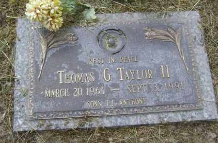 TAYLOR II, THOMAS G. - Lawrence County, Arkansas | THOMAS G. TAYLOR II - Arkansas Gravestone Photos