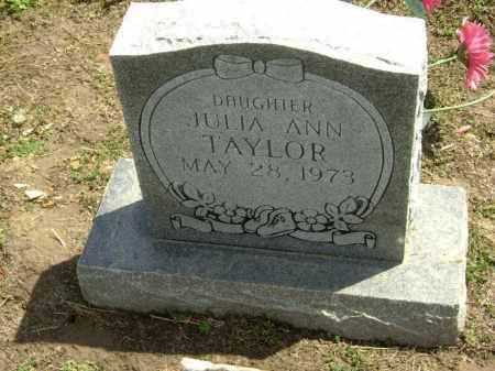 TAYLOR, JULIA ANN - Lawrence County, Arkansas | JULIA ANN TAYLOR - Arkansas Gravestone Photos