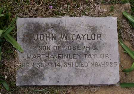 TAYLOR, JOHN WESLEY - Lawrence County, Arkansas | JOHN WESLEY TAYLOR - Arkansas Gravestone Photos