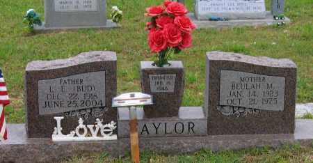 TAYLOR, BEULAH MARIE - Lawrence County, Arkansas | BEULAH MARIE TAYLOR - Arkansas Gravestone Photos