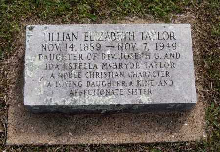 TAYLOR, LILLIAN ELIZABETH - Lawrence County, Arkansas | LILLIAN ELIZABETH TAYLOR - Arkansas Gravestone Photos