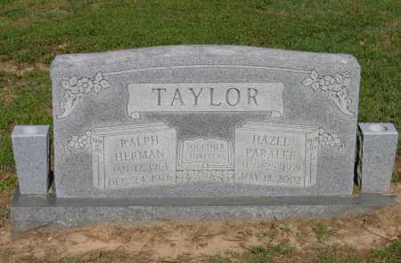 TAYLOR, HAZEL PARALEE - Lawrence County, Arkansas | HAZEL PARALEE TAYLOR - Arkansas Gravestone Photos