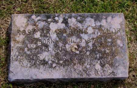 ARMSTRONG TAYLOR, ROSA - Lawrence County, Arkansas | ROSA ARMSTRONG TAYLOR - Arkansas Gravestone Photos