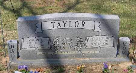 TAYLOR, WILLIAM D. - Lawrence County, Arkansas | WILLIAM D. TAYLOR - Arkansas Gravestone Photos