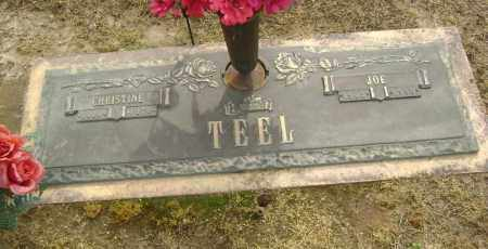"TEEL, CHRISTINE ""INA"" - Lawrence County, Arkansas 