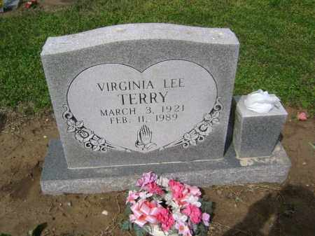 TERRY, VIRGNIA LEE - Lawrence County, Arkansas | VIRGNIA LEE TERRY - Arkansas Gravestone Photos